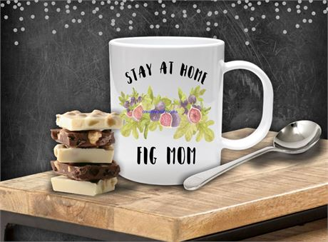 STAY AT HOME FIG MOM COFFEE MUG
